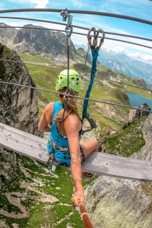 via ferrata la plagne