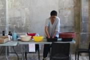 Jhuwan Yeh, fabrication de papier à la façon traditionnelle taïwanaise