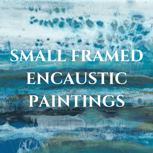 Mini Framed Encaustic Paintings