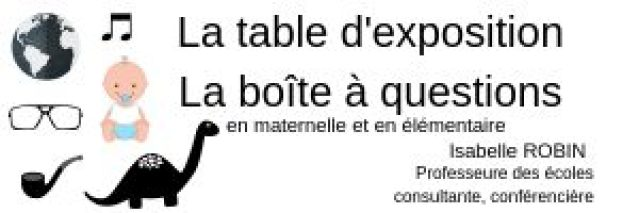 Table d'exposition