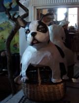 boule dog au panier