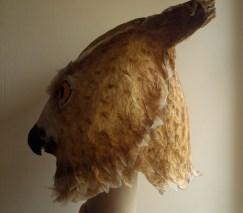 tête de hibou grand duc