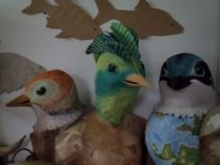 oiseaux papier