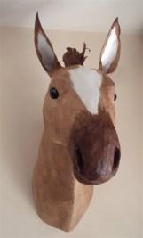 cheval papier