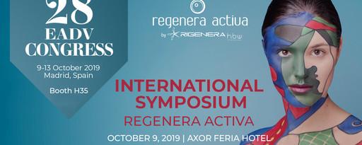 Simposio Internacional Regenera Activa By Rigenera-HBWR el 9 y 11 de Octubre