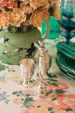 vintage touch - Easy to Make Easter Décor for Your Table