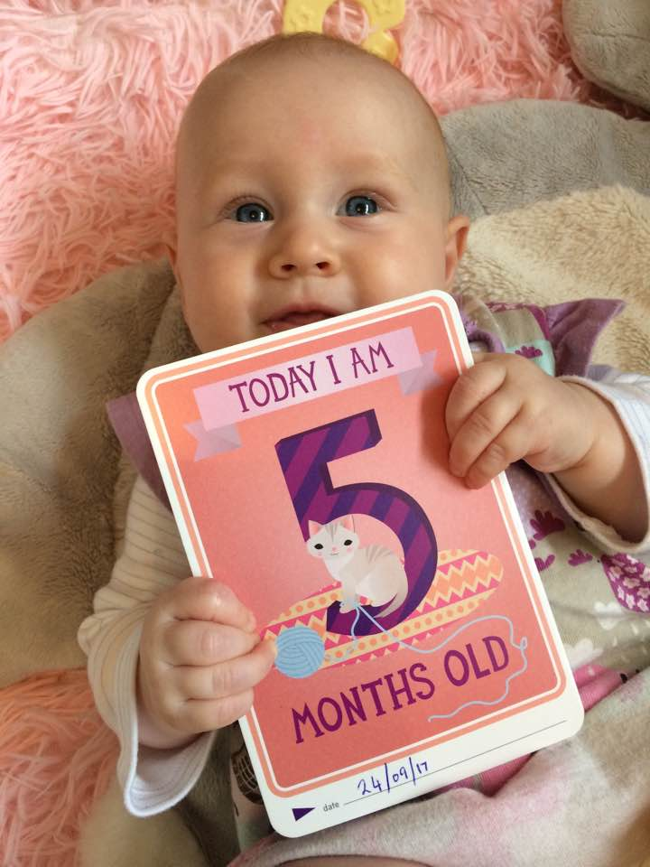 We've Somehow Got a Five Month Old Baby!