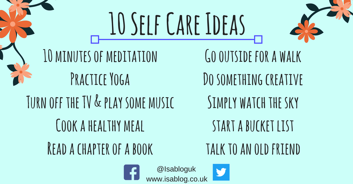 Tips self care What is