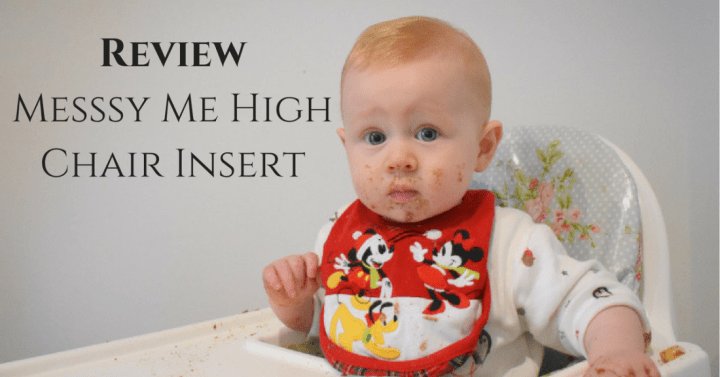 Review: Messy Me Highchair Insert
