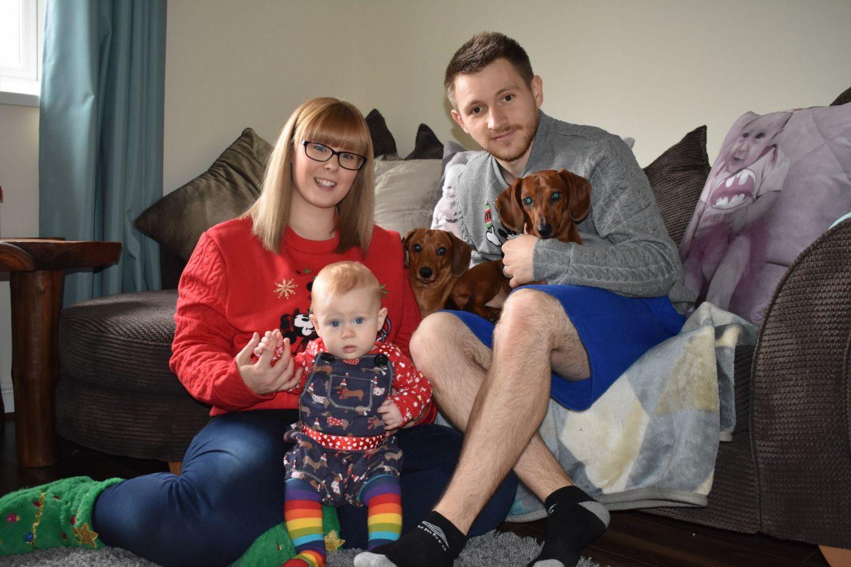 Our Christmas Family Photo 2017
