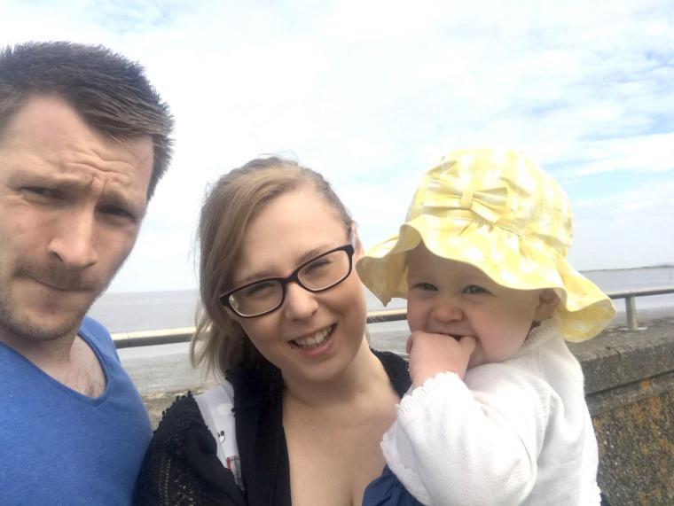 Us at Burnham-on-sea