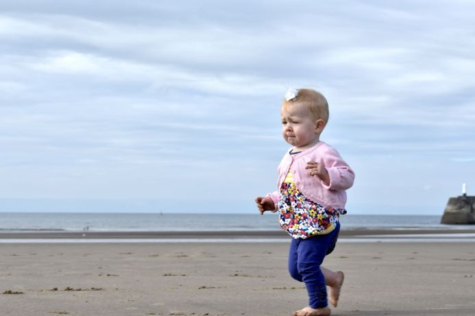 Isabelle at Porthcawl