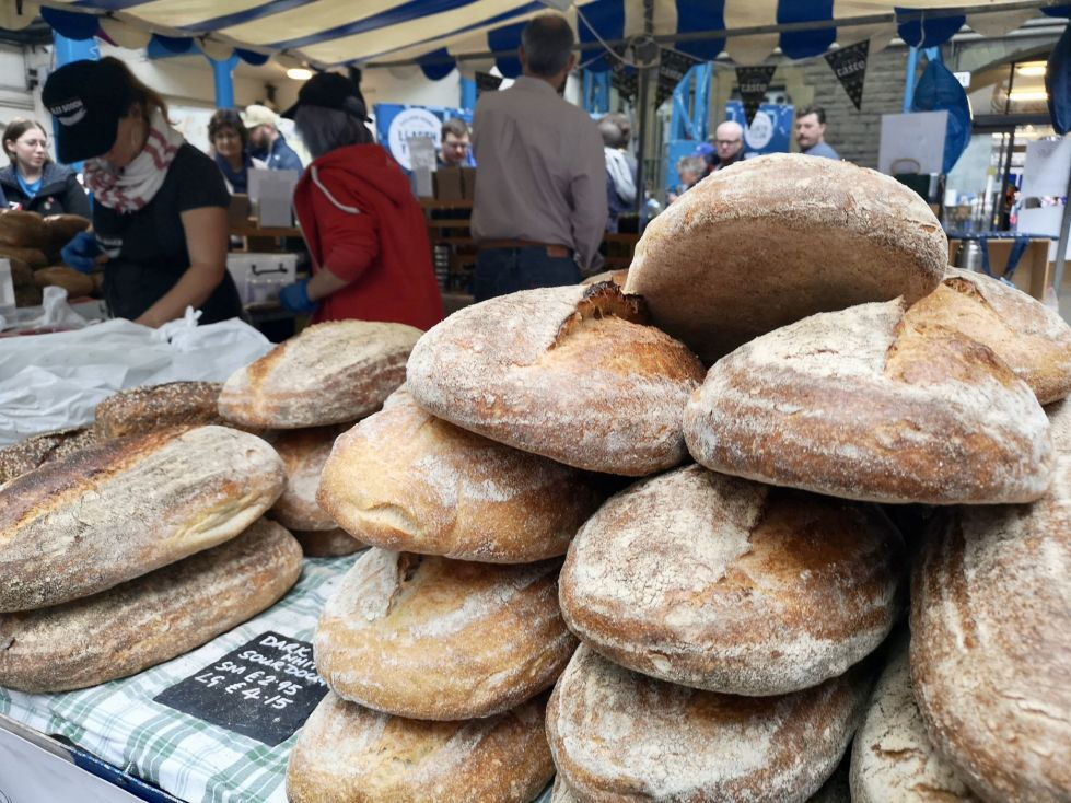 Bread at Abergavenny Food Festival