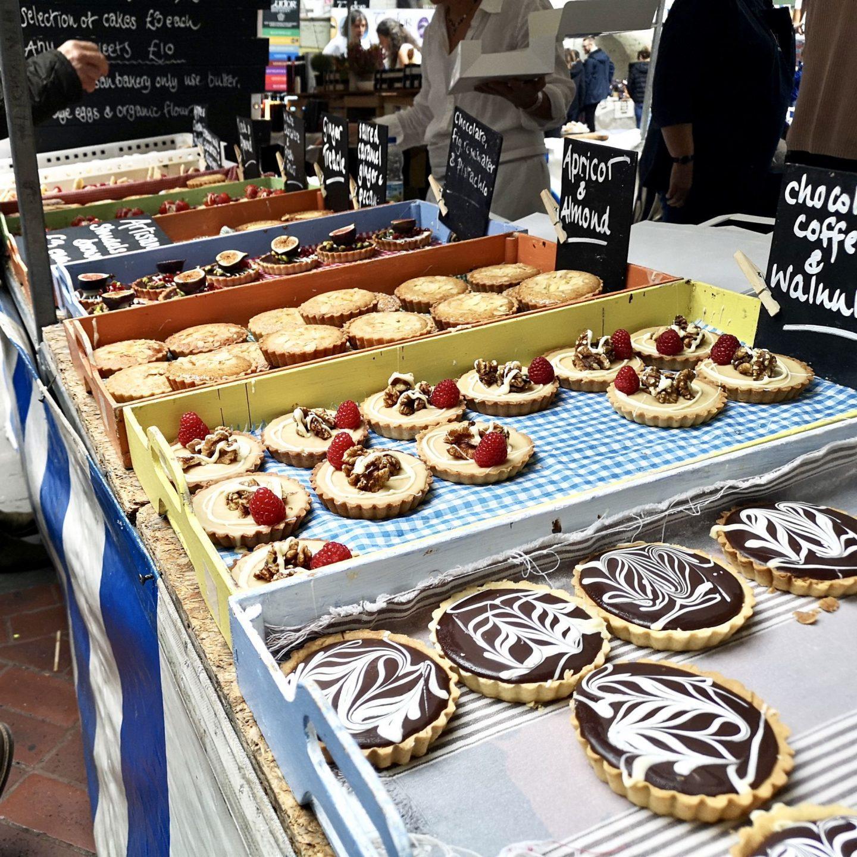 Cakes at Abergavenny Food Festival