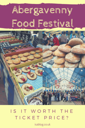 Abergavenny Food Festival - is it worth the ticket price? We recently went to Abergavenny food festival and got to answer whether or not it was worth the price of the ticket