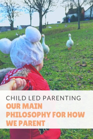 Child Led Parenting - Our Main Philosophy for How We Parent. Ever since my daughter was born we've tried to be as child led as possible. Breastfeeding on demand, baby led weaning and now we're still keeping up the child led ethos. But it's not about letting them get their way and do what they want. There's much more to it than that.