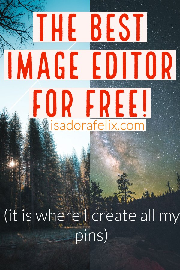 How to Make Professional Images to use on Your Posts for Free and Without Design Knowledge