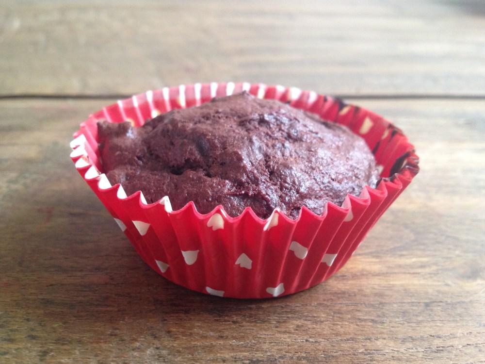 Chocolade Muffin Rode Bietjes
