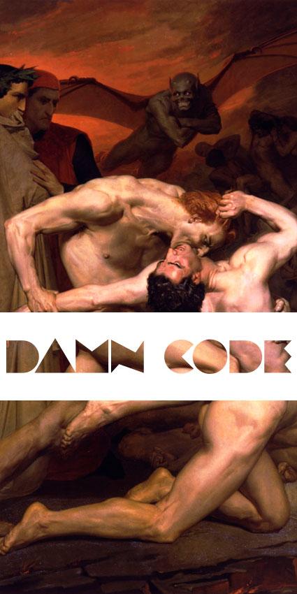 Damn Code | Identidad Visual