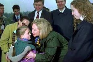 Hillary lies about Bosnia visit