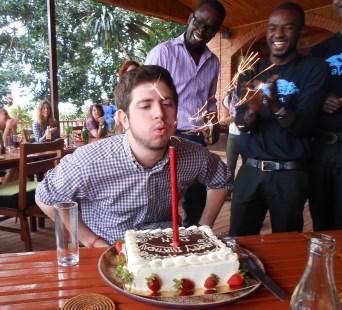 My 20th birthday in Rwanda! WOW.