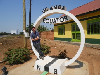 We stopped at the equator on our way to Kampala, Uganda. Always reppin' the Northern Hemisphere!