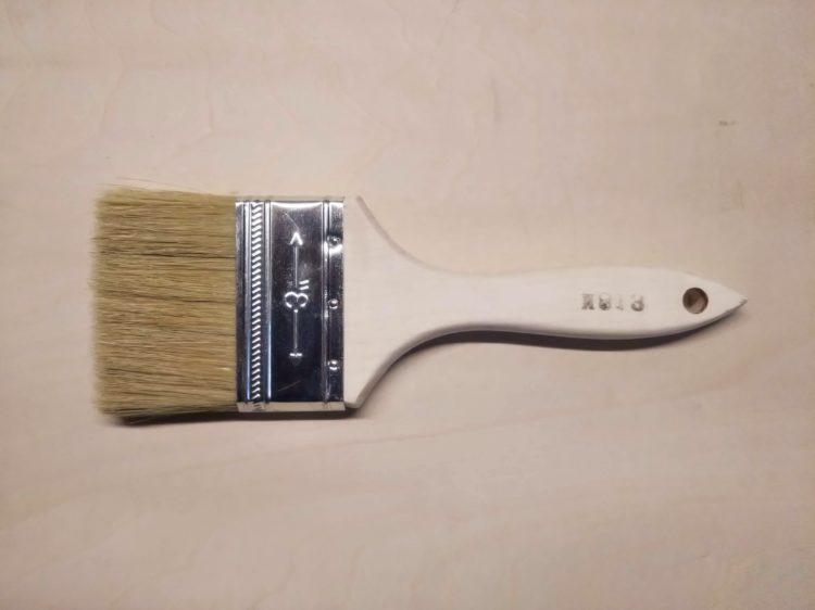 平刷毛(塗装用ラスター刷毛)