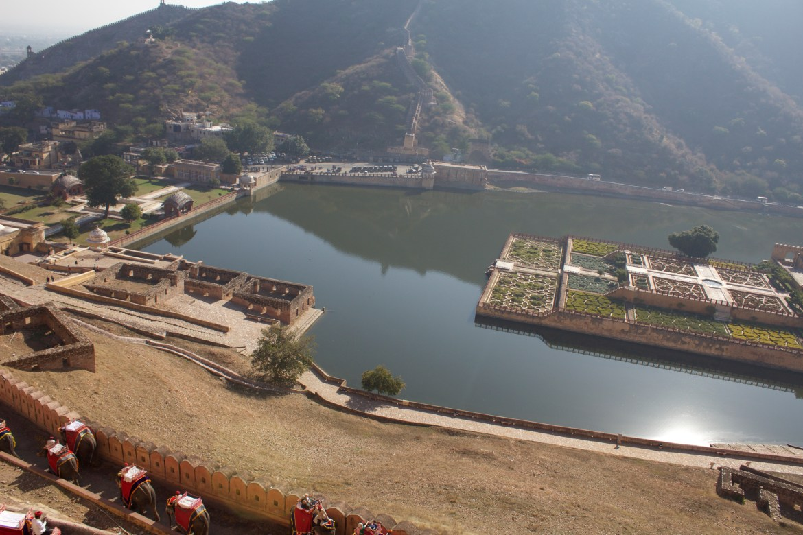 Maotha Lake in Amer Fort