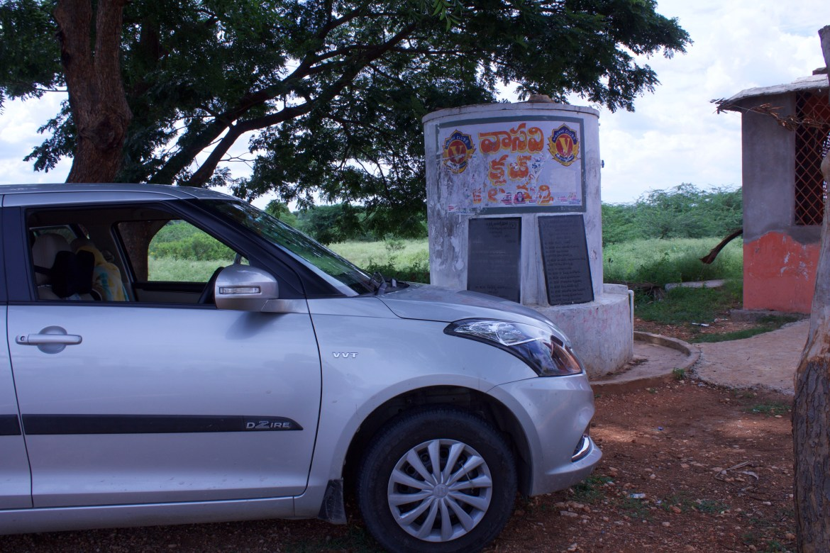 Stop along Srisailam Highway