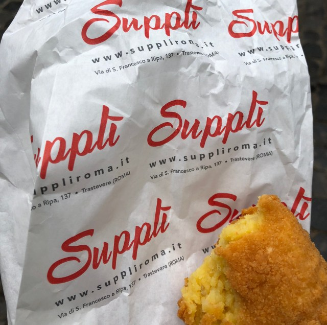 Must try food in Rome - Supplì