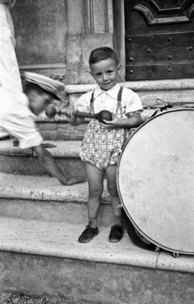 Romano Petroselli. Proprietà Fototeca Comunale B. Grandinetti.