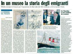 Corriere Adriatico Cronaca locale del 15-9-2012.
