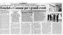 Corriere Adriatico - cronaca locale del 12-5-2008.
