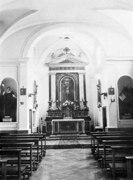 Interno della Chiesa di S.Sisto