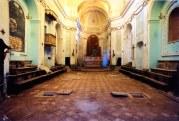 Interno della ex-chiesa di S. Agostino