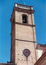 Torre Civica vista dal versante di Via Mariano Cutini. Foto Luigi Anzalone.