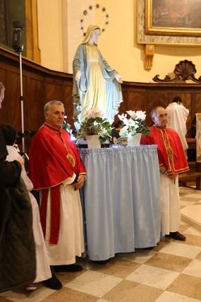 Messa per il 60° Anniversario della proclamazione di Potenza Picena Città di Maria. Foto di Luigi Anzalone.