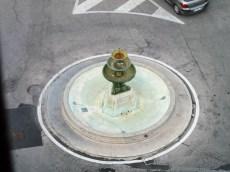 Fontana di Piazza Matteotti vista dalla torre civica.