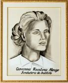 Ritratto della Fondatrice Giovanna Faustina Mengo. Foto Sergio Ceccotti.