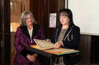 ROVIGO - Premio Internazionale Biblioteca Guerrato - Medaglia d'Oro - sezione Saggio Storico - ottobre. Foto prop. Graziella Carassi.