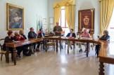 Presentazione di Paolo Onofri. 18 maggio 2016 donazione quadro di Luis Dottori al Comune di Potenza Picena. Foto di Sergio Ceccotti.