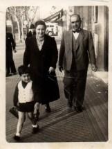 Carlos Fontinovo e Blanca Moreno. Foto di Amalia Fontinovo.