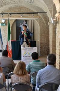 Intervento dell'Assosre alle Attività produttive Tommaso Ruffini. Manifestazione Bicentenario indipendenza argentina 9 luglio 2016. Foto di Enzo Romagnoli.