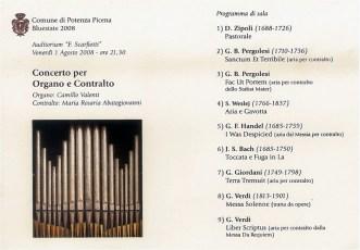 Concerto 1 agosto 2008.