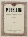 Metodo di esercizi tecnici di Bruno Mugellini Copertina libro III°