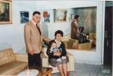 Reinaldo Carestia con la moglie Ana Garcia e la loro nipote Maria Fernando Palacio. Foto Franco Carestia.