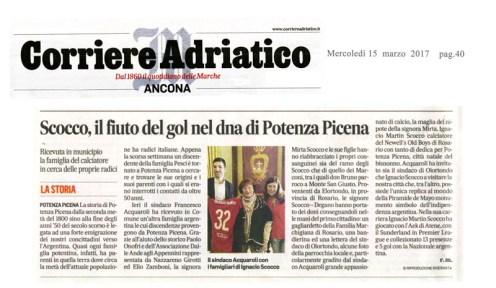 Corriere Adriatico 15 Marzo 2017