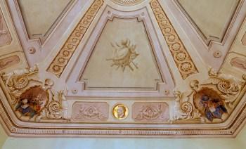 Volta decorata della Sala Giunta. Foto Sergio Ceccotti.