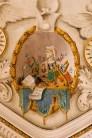 Particolari decorativi della Sala Giunta. Foto Sergio Ceccotti.