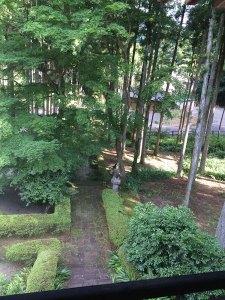 鳳仙寺山門からの眺め2